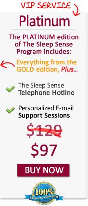 Special Offer: Sleep Sense Platinum Plan